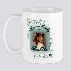 Rough Collie Gifts Mug